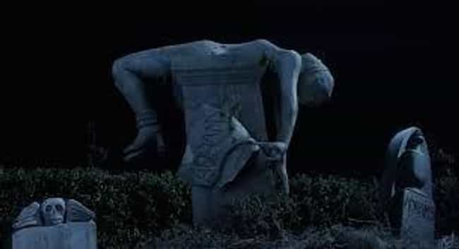 The Cemetery Statues Watch Mor... is listed (or ranked) 2 on the list Scandalous 'Addams Family' Jokes That Went Right Over Your Sweet, Childish Head