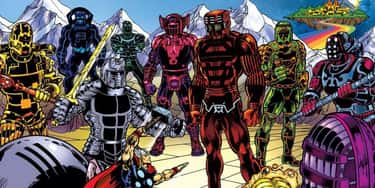 The Celestials Are Basically T is listed (or ranked) 1 on the list The Eternals Could Be The Next MCU Big Bad, And Thanos Isn't Even The Strongest One