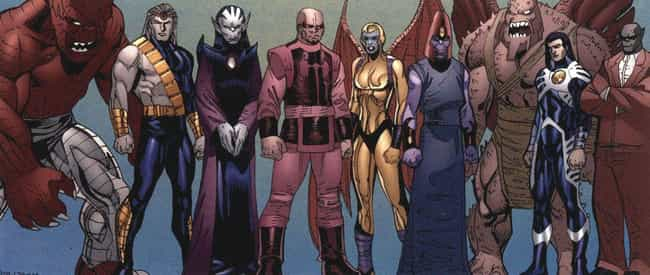 The Eternals, The Devian... is listed (or ranked) 3 on the list The Eternals Could Be The Next MCU Big Bad, And Thanos Isn't Even The Strongest One