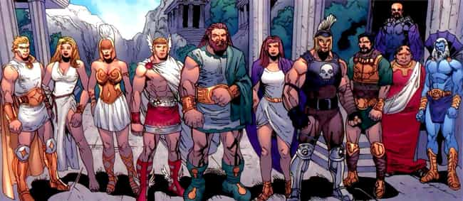The Eternals Work Alongside No... is listed (or ranked) 4 on the list The Eternals Could Be The Next MCU Big Bad, And Thanos Isn't Even The Strongest One