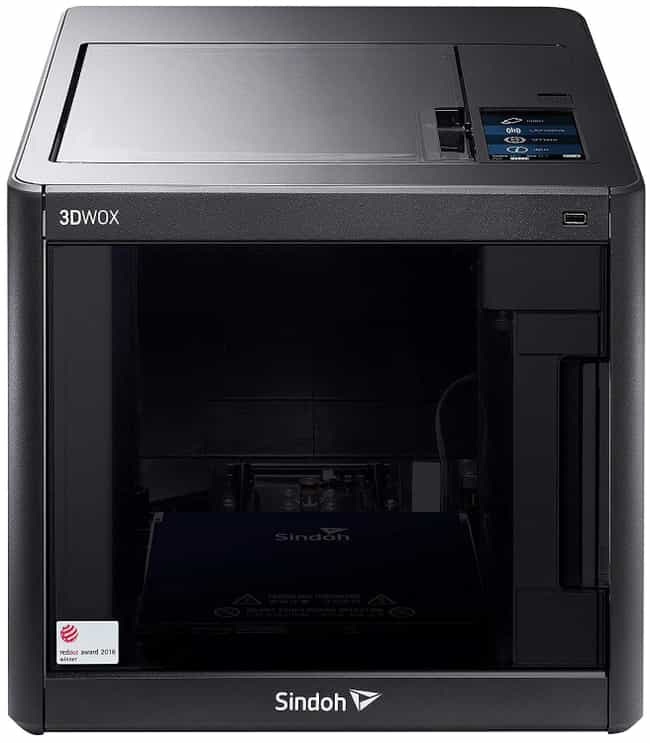 Sindoh 3DWOX DP200 3D Printer is listed (or ranked) 1 on the list The Best 3D Printers