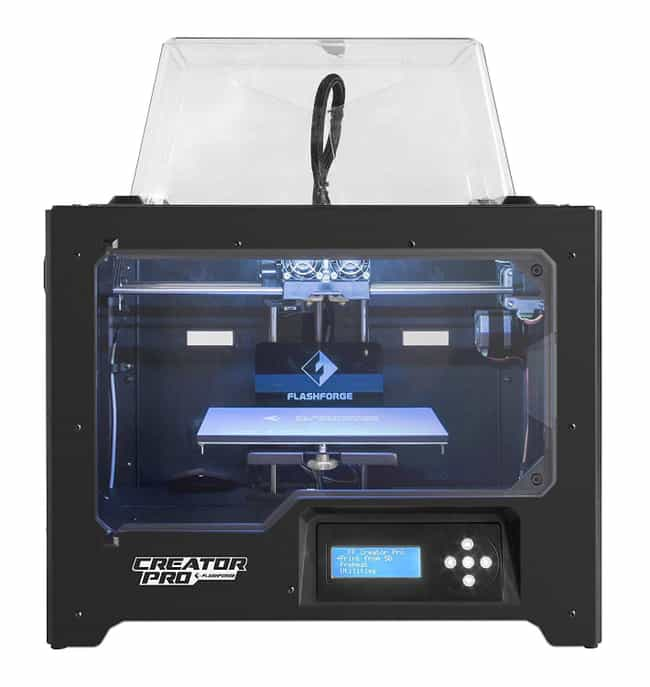 FlashForge Creator Pro 3D Prin... is listed (or ranked) 2 on the list The Best 3D Printers