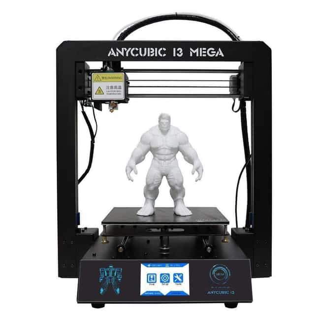 ANYCUBIC Upgraded Full Metal I... is listed (or ranked) 4 on the list The Best 3D Printers