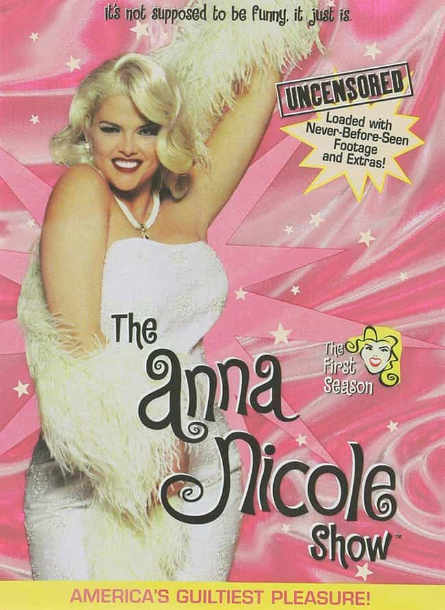 E!'s Ad Campaign For The... is listed (or ranked) 3 on the list All The Ways E! Took Advantage Of Anna Nicole Smith By Producing 'The Anna Nicole Show'