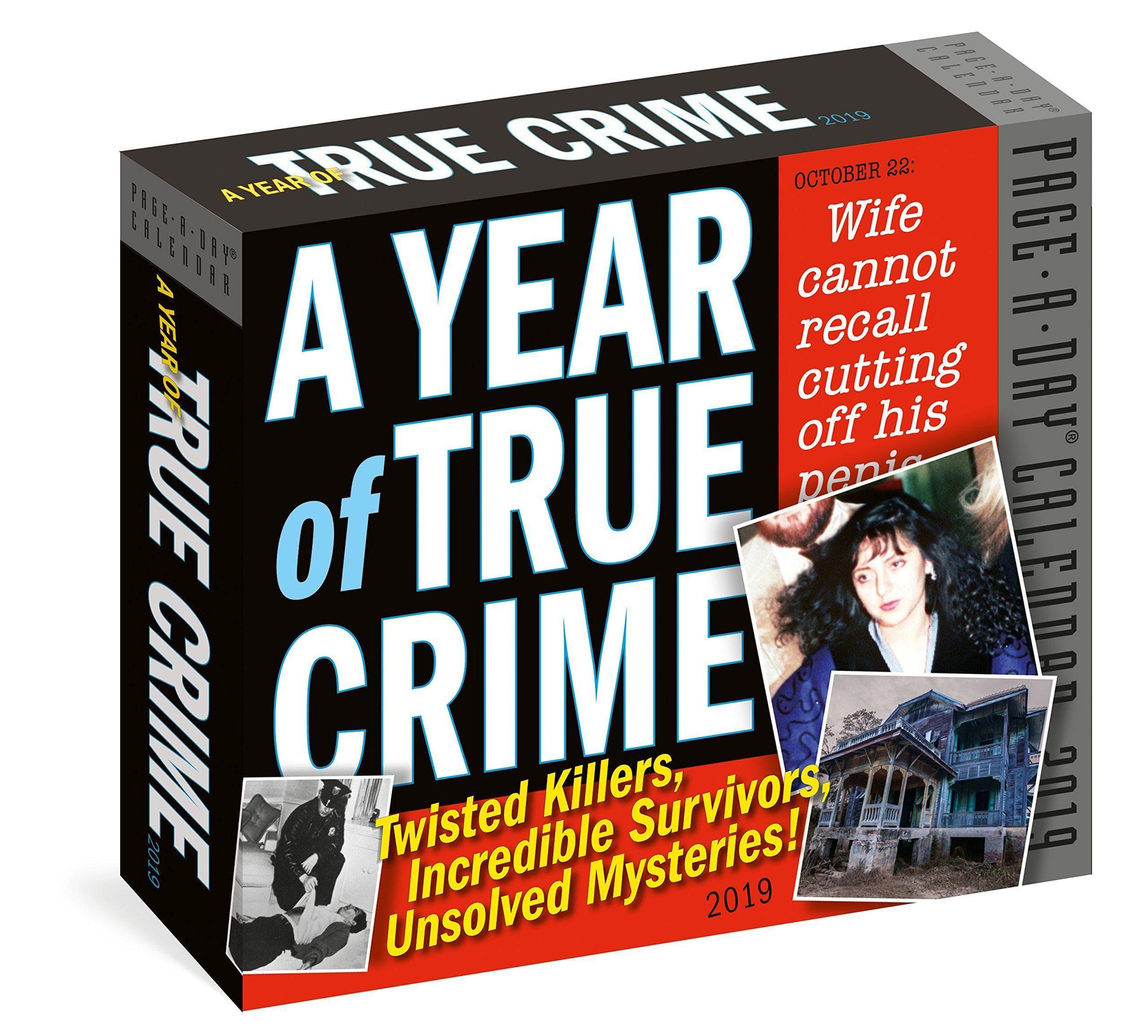 Random Holiday Gift Ideas For True Crime Lover