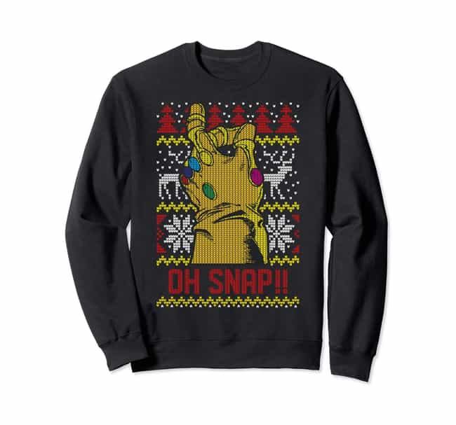 Nerdy Christmas Sweaters.18 Of The Best Marvel Ugly Christmas Sweaters