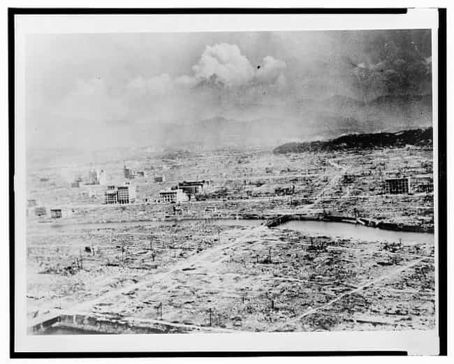 A Panoramic View Of Hiroshima ... is listed (or ranked) 4 on the list The Most Haunting Photos Of Hiroshima, Taken In The Aftermath Of The Atomic Bomb