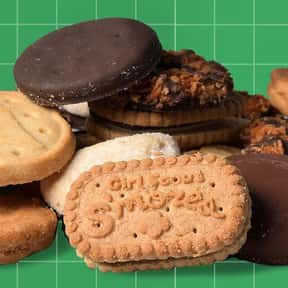 Girl Scout Cookies is listed (or ranked) 11 on the list The Best Cookie Brands