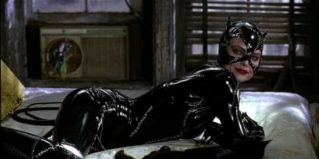 Catwoman's Suit Isn't Exactly ... is listed (or ranked) 2 on the list Catwoman In 'Batman Returns' Introduced Unabashed Sensuality To '90s Kids Around The World