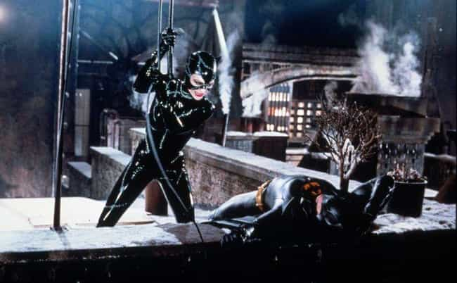 Catwoman Is The Most Active Ch... is listed (or ranked) 4 on the list Catwoman In 'Batman Returns' Introduced Unabashed Sensuality To '90s Kids Around The World