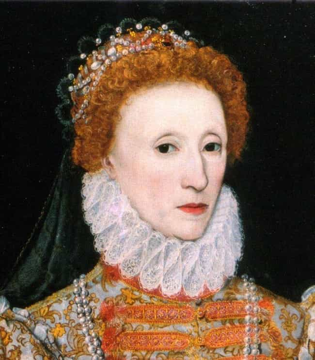 Her Lipstick Contained M... is listed (or ranked) 2 on the list Queen Elizabeth I Was Probably Killed By The Makeup Required For Her Signature Look