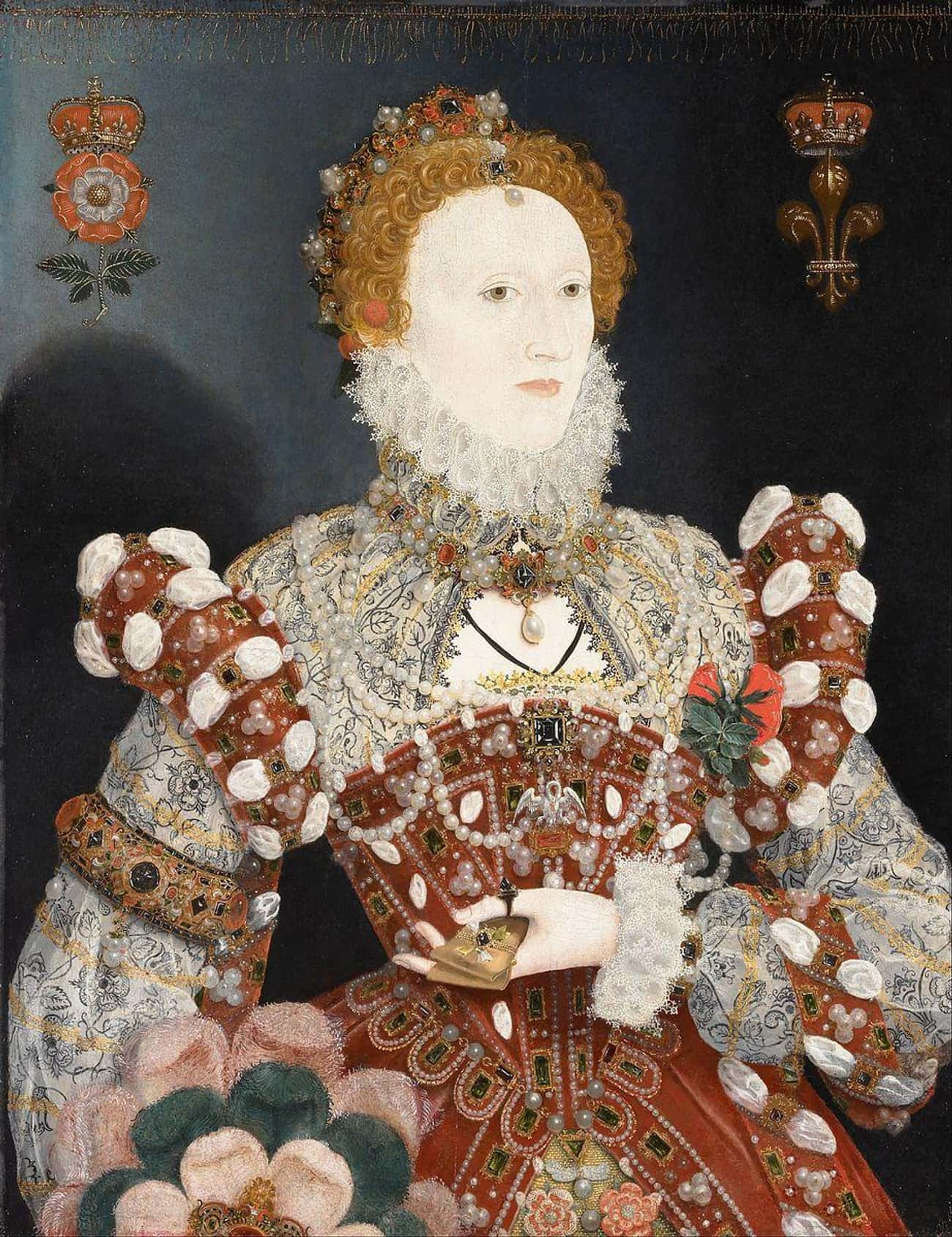 White Ceruse Gave Her A Ghostl is listed (or ranked) 3 on the list Queen Elizabeth I Was Probably Killed By The Makeup Required For Her Signature Look