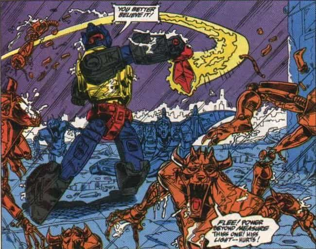 Demonic Entities Are Imp... is listed (or ranked) 4 on the list Facts About The Cybertron Origin Story