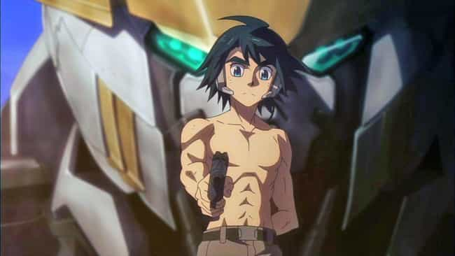 Mikazuki Augus - Iron Bl... is listed (or ranked) 3 on the list The 20 Best Anime Mecha Pilots of All Time