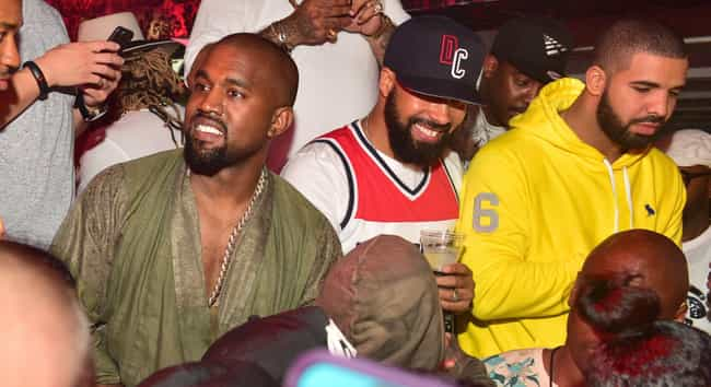 Kanye West Has A Long-Standing... is listed (or ranked) 1 on the list A Complete Timeline Of The Kanye-Drake-Ariana-Pete Twitter Feud