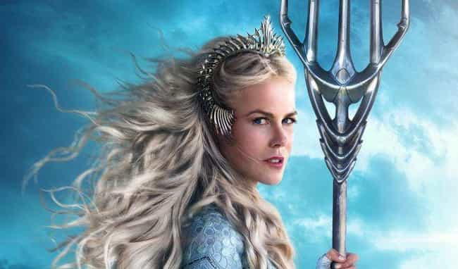Queen Atlanna is listed (or ranked) 4 on the list Here Are All The Characters In 'Aquaman' That You've Never Seen Before