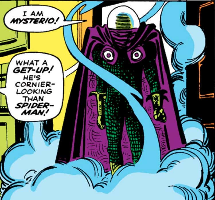 Mysterio Is Quentin Beck, A Failed Stuntman