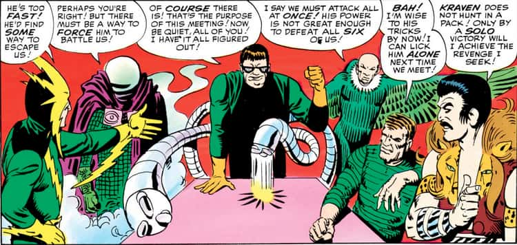 MysterioIs An Original Member Of The Sinister Six
