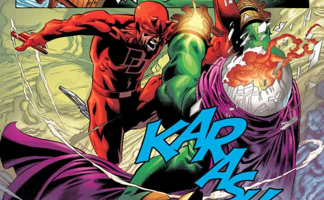 He Almost Drove Daredevil Craz... is listed (or ranked) 7 on the list Everything We Know About Mysterio, The Next Big Spider-Man Villain