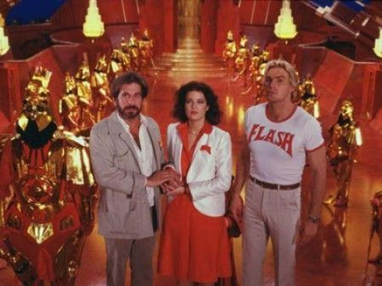 Producer De LaurentiisWanted  is listed (or ranked) 3 on the list Behind-The-Scenes Stories From The Set Of The '80s 'Flash Gordon'