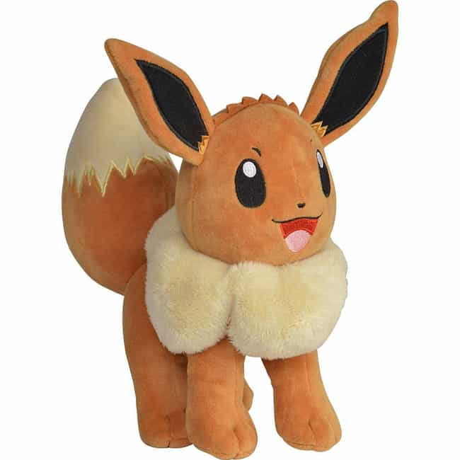 Pokémon Eevee Plushie is listed (or ranked) 3 on the list The Best Video Game Plushies