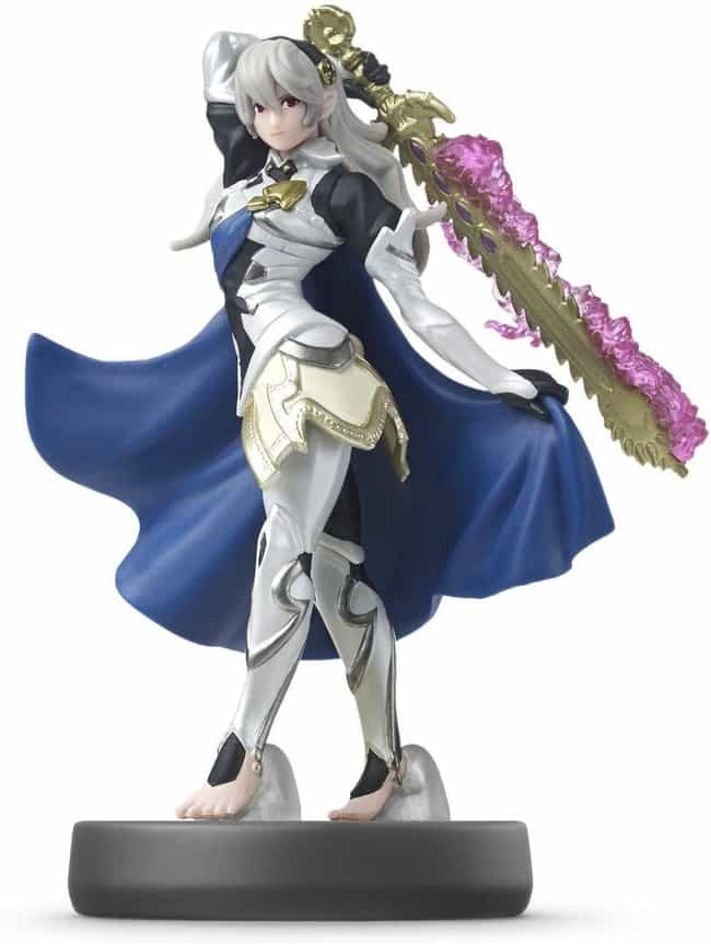 Corrin, Player 2 is listed (or ranked) 2 on the list The Best Amiibos For Super Smash Bros.