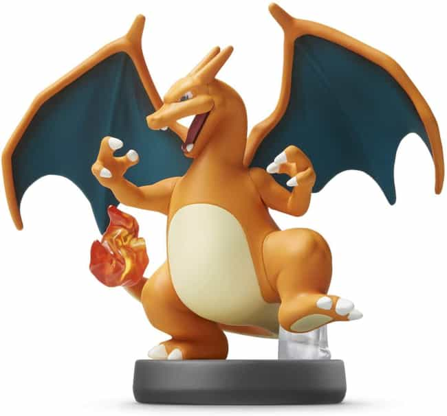 Charizard is listed (or ranked) 2 on the list The Best Amiibos For Super Smash Bros.