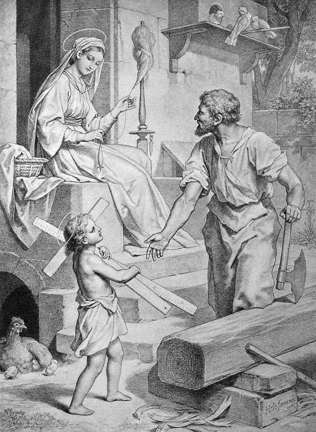 Jesus Talks Back To Joseph For... is listed (or ranked) 3 on the list There's A Hidden Gospel Of Jesus's Childhood, And Its Contents Are Shocking