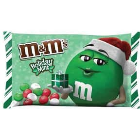Holiday Mint M&Ms is listed (or ranked) 25 on the list The Best Flavors of M&Ms
