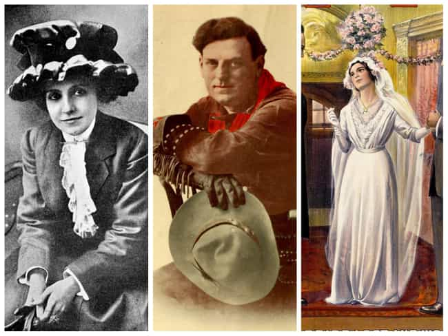 1900s: Florence Turner, Gilber... is listed (or ranked) 1 on the list Here's What 'Hollywood Royalty' Looked Like In Every Decade Of The 20th Century