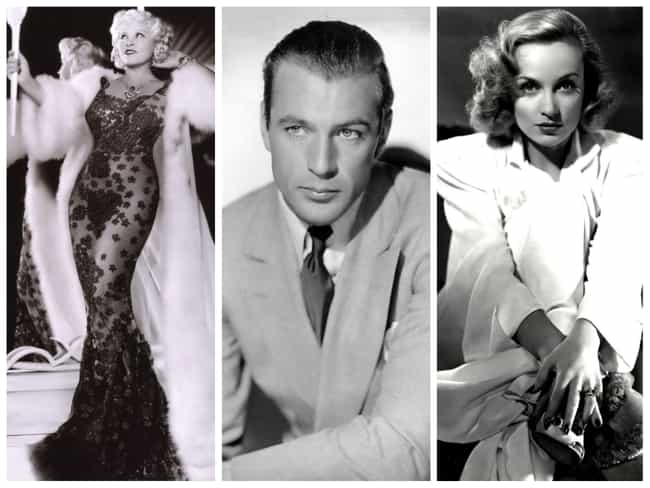 1930s: Mae West, Gary Cooper, ... is listed (or ranked) 4 on the list Here's What 'Hollywood Royalty' Looked Like In Every Decade Of The 20th Century
