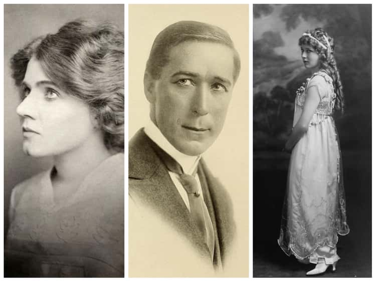 1910s: Florence Lawrence, William S. Hart, And Mary Pickford