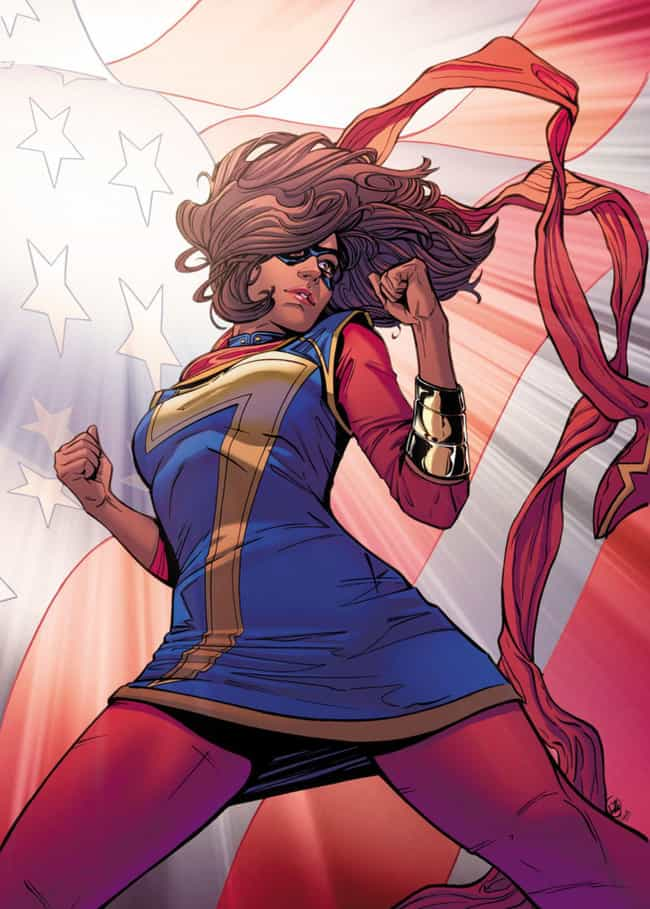 Kamala Khan Is One Of Marvel's... is listed (or ranked) 2 on the list Comic Book Characters That Were Criticized For 'Forced Diversity' And Became Fan Favorites Anyway