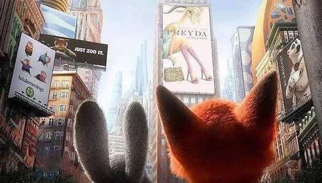 Virtually Every Store Na... is listed (or ranked) 4 on the list Jokes And References That Went Over Your Head In 'Zootopia'