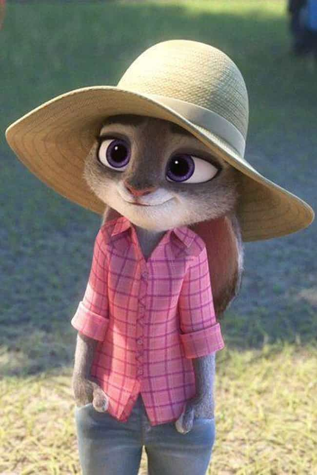 Judy's Clothes Sometimes Mirro... is listed (or ranked) 3 on the list 14 Adult Jokes You Missed In 'Zootopia'