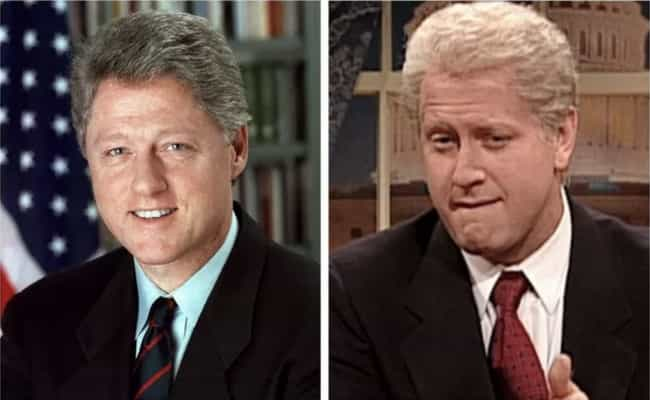 Bill Clinton - Darrell Hammond is listed (or ranked) 3 on the list 21 Real Politicians Vs Their 'SNL' Impressions