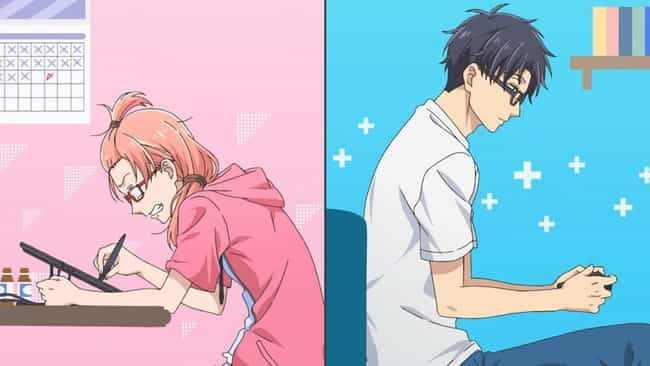 Wotakoi: Love Is Hard For Otak... is listed (or ranked) 1 on the list The 13 Best Anime Like Recovery of an MMO Junkie