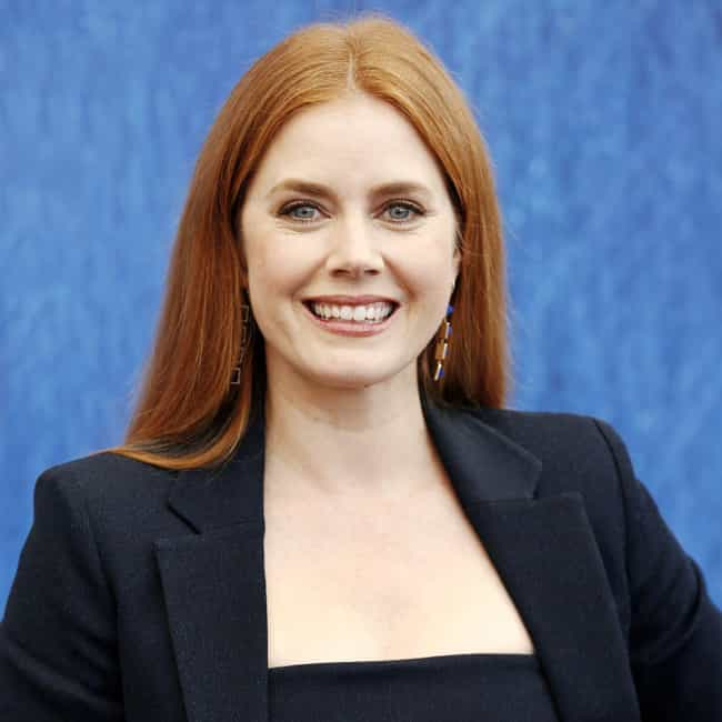 Dyeing Her Hair Red Helped Her... is listed (or ranked) 2 on the list 16 Things You Didn't Know About Amy Adams