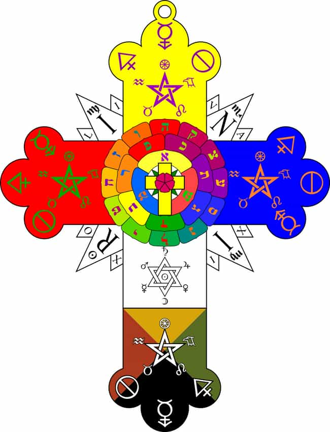 The Rose Cross is listed (or ranked) 3 on the list Be Wary Of Displaying These Recognizable Symbols With Powerful Mystical Connections