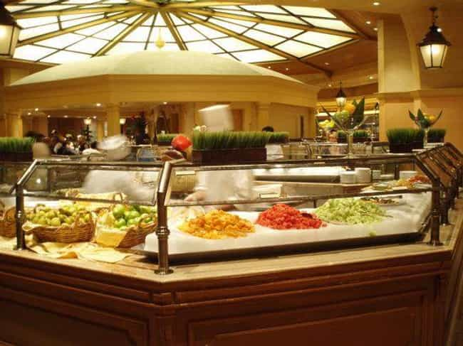 The Buffet at Bellagio is listed (or ranked) 3 on the list The Best Buffets In Las Vegas