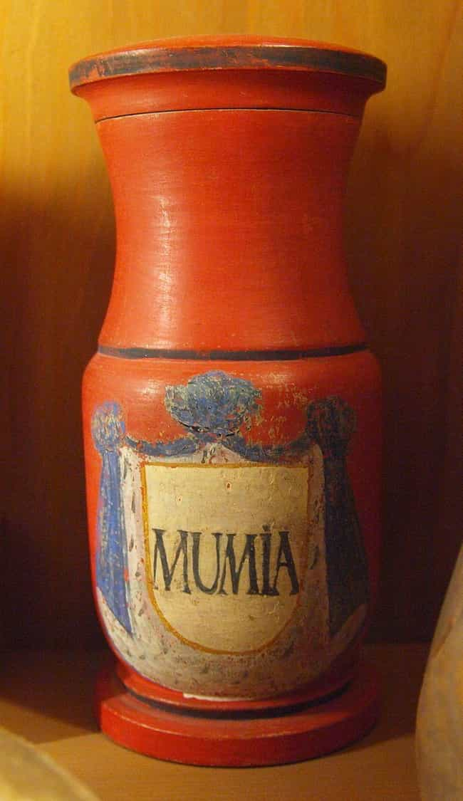 Doctors Prescribed Ground Up M... is listed (or ranked) 2 on the list 11 Bizarre Ways Victorians Used Mummies In Everyday Life