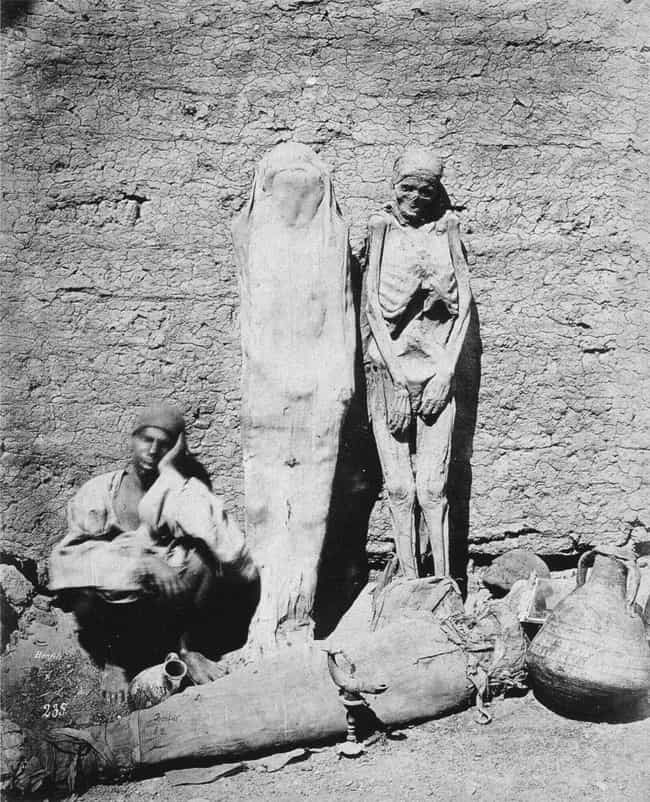 People Supposedly Fueled Locom... is listed (or ranked) 1 on the list 11 Bizarre Ways Victorians Used Mummies In Everyday Life