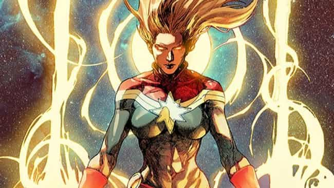 She Can Absorb The Energy Of A... is listed (or ranked) 2 on the list How Strong Is Captain Marvel, Really?