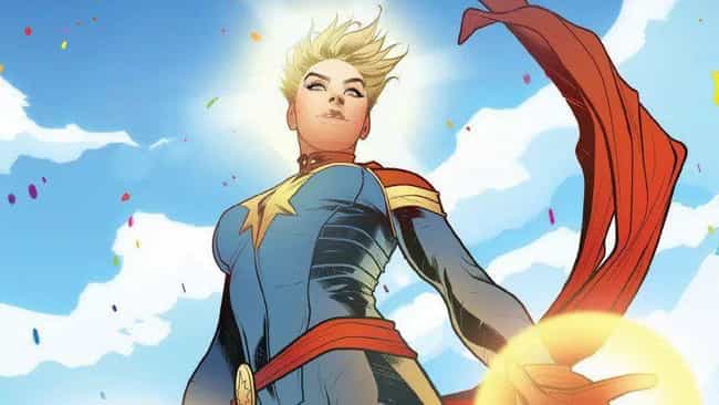 Her List Of Powers Runs The Ga... is listed (or ranked) 1 on the list How Strong Is Captain Marvel, Really?