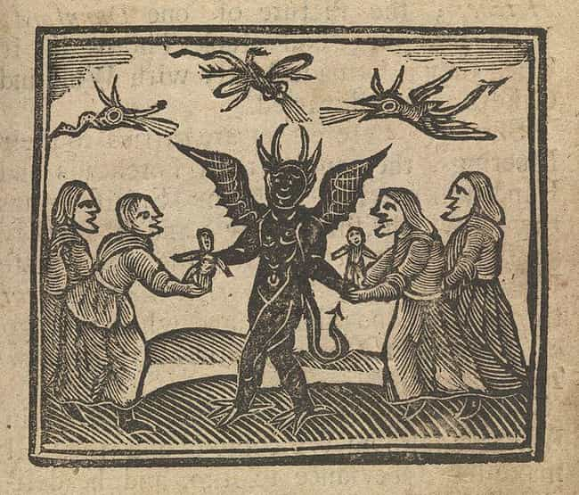 The Book Claims Speaking Any F... is listed (or ranked) 4 on the list The Creator Of The King James Bible Wrote A Demonology Book At The Height Of Massive Witch Hunts