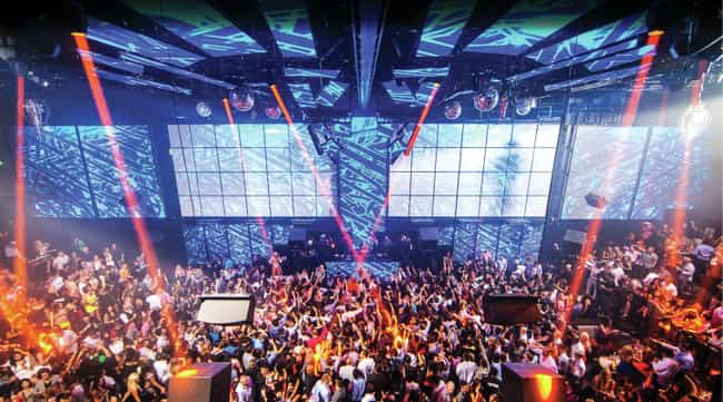 LIGHT Nightclub is listed (or ranked) 4 on the list The Best Nightclubs In Las Vegas