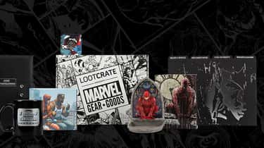 Marvel Gear + Goods is listed (or ranked) 2 on the list The Best Loot Crate Subscription Boxes