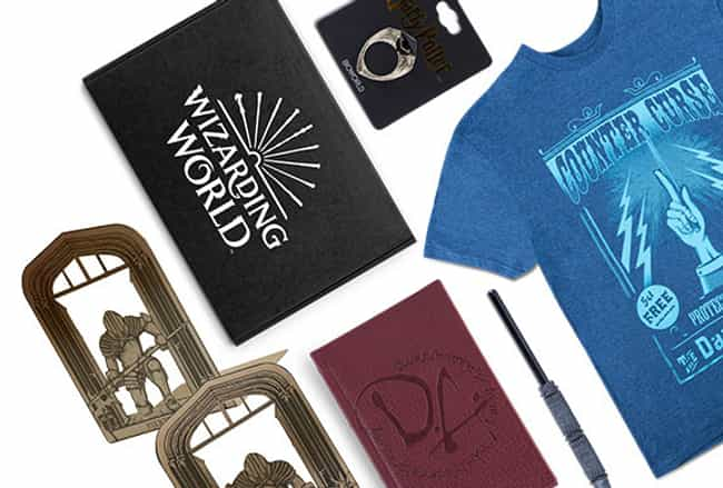 J.K. Rowling's Wizarding... is listed (or ranked) 4 on the list The Best Loot Crate Subscription Boxes