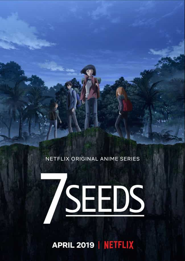 7Seeds is listed (or ranked) 3 on the list 15 New Anime Coming To Netflix In 2019