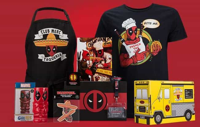 Deadpool Club Merc Crate... is listed (or ranked) 1 on the list The Best Loot Crate Subscription Boxes